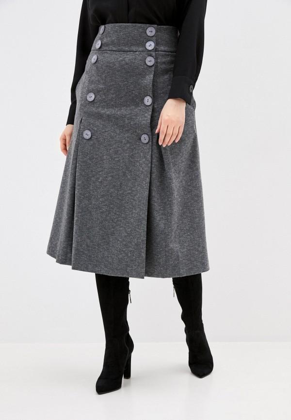 Юбка ASV Fashion Design ASV Fashion Design  серый фото
