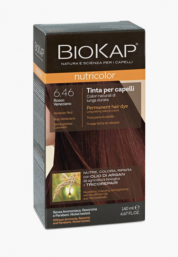 женский краска для волос biokap, бордовый
