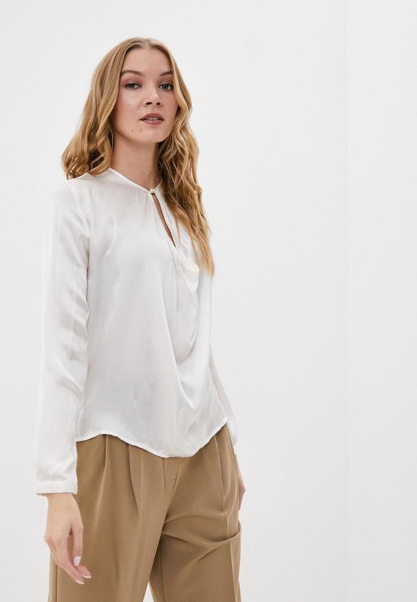 женская блузка с длинным рукавом sack's, белая