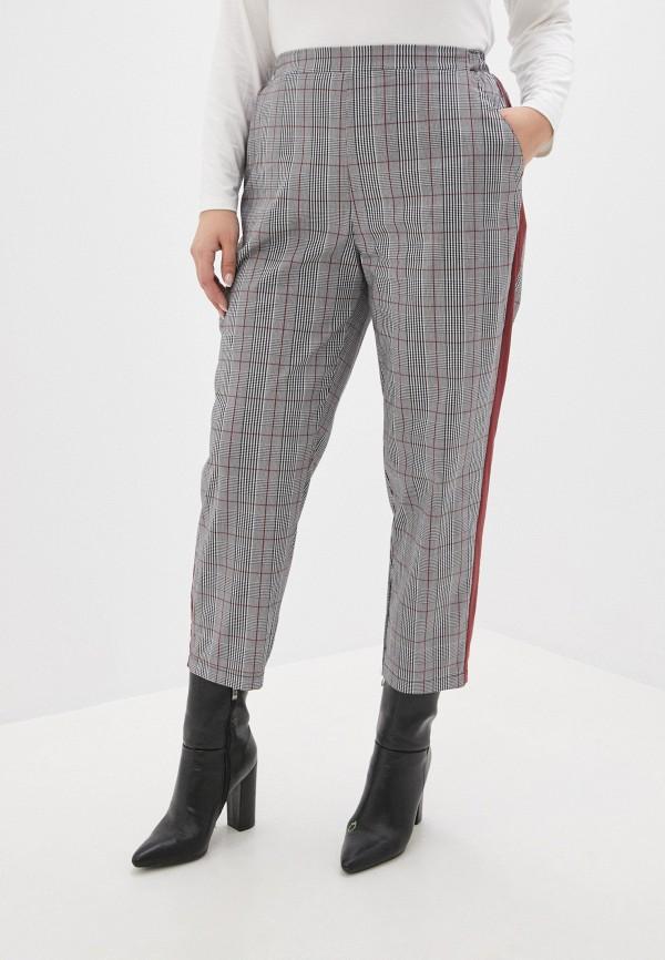 женские зауженные брюки mark formelle, серые