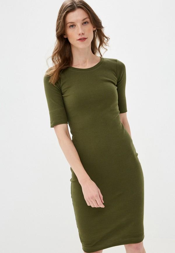 женское платье-футболки mark formelle, хаки