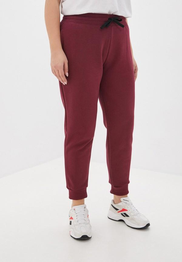 женские спортивные брюки mark formelle, бордовые