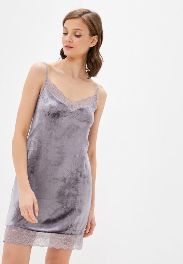 женские сорочка ночная mark formelle, серые