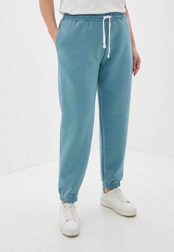 женские спортивные брюки mark formelle, голубые