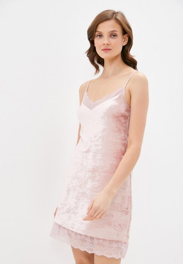 женские сорочка ночная mark formelle, розовые