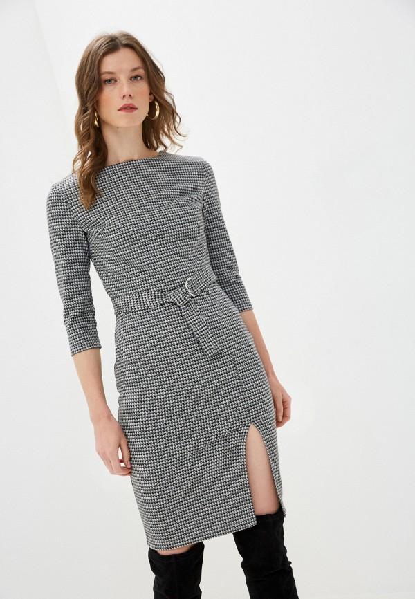 женское повседневные платье mark formelle, серое
