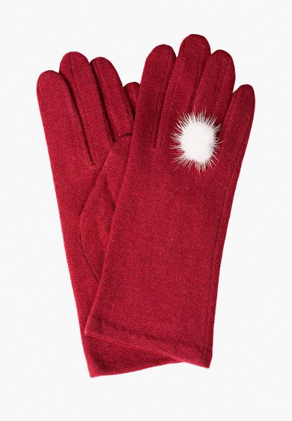 женские текстильные перчатки shpil design, красные
