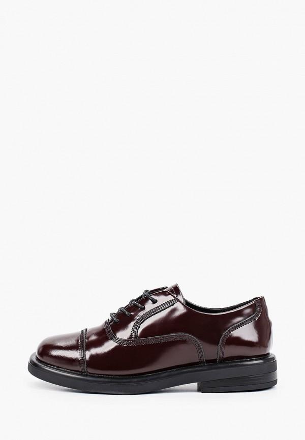 женские низкие ботинки sprincway, бордовые