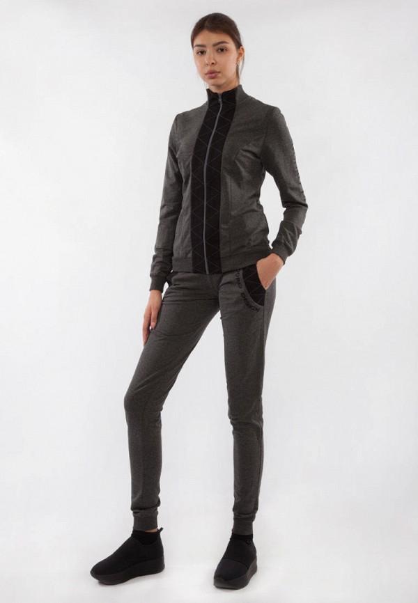 женский спортивный костюм bodro design, серый