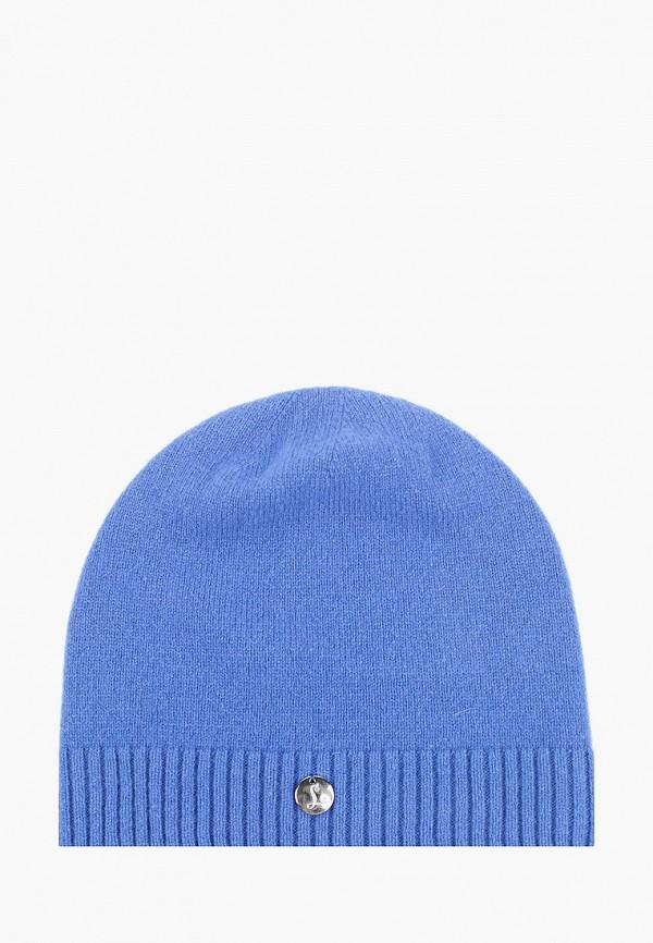 женская шапка landre, голубая