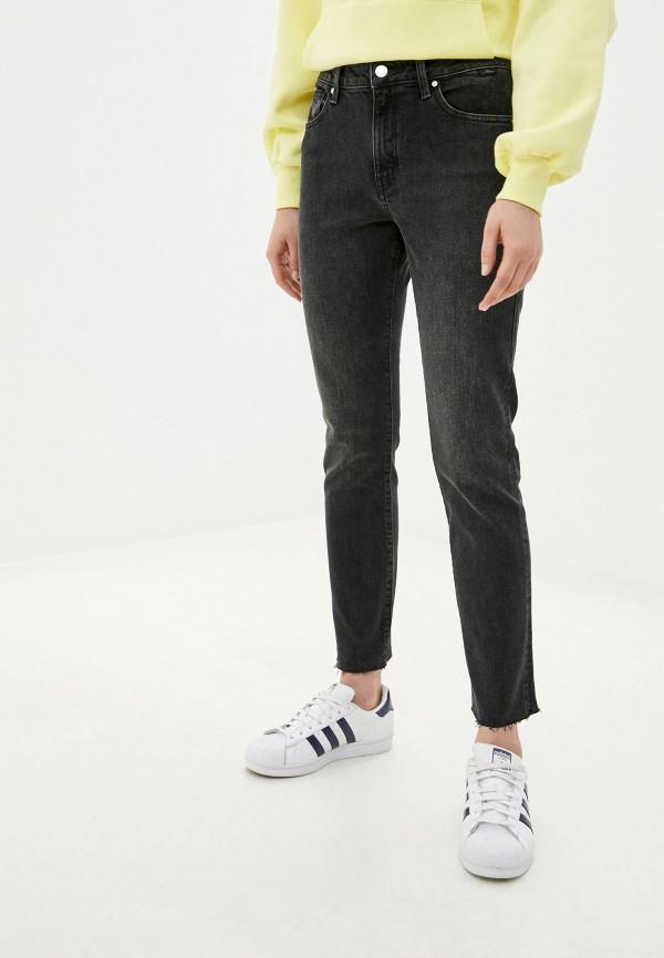 женские джинсы скинни mavi, серые