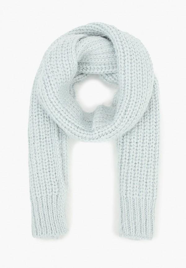 женский шарф befree, бирюзовый