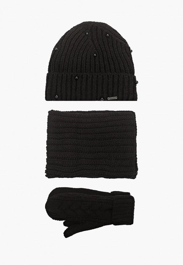 женский шарф jagga, черный