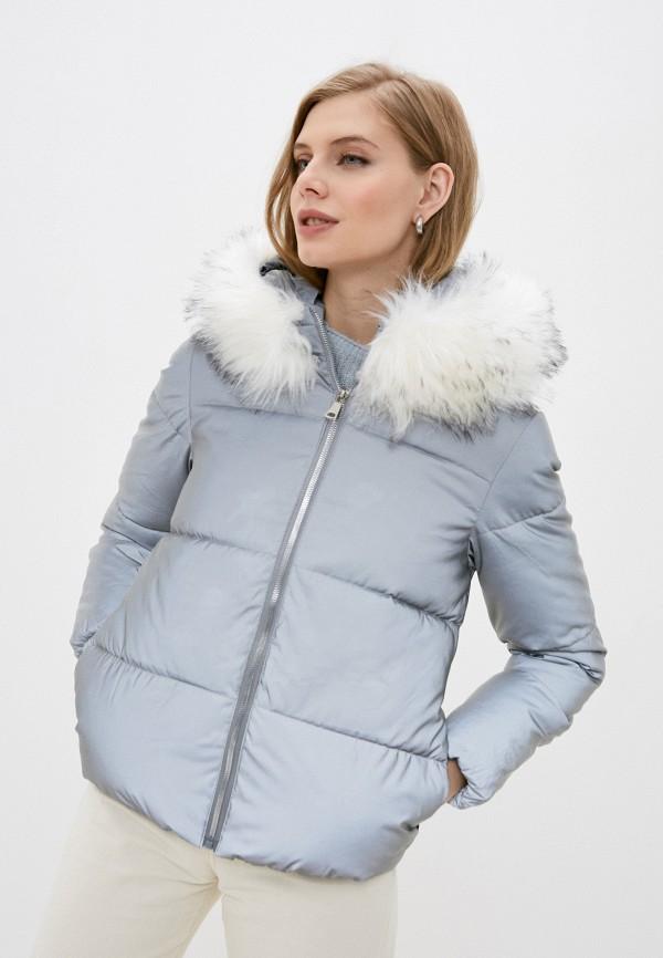 женская утепленные куртка still-expert, серебряная