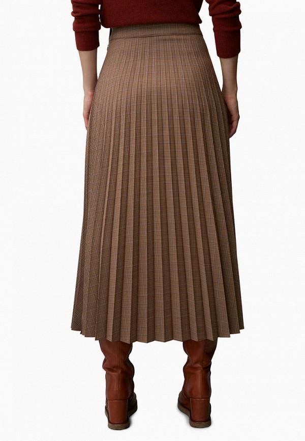 женская юбка marc o'polo, коричневая