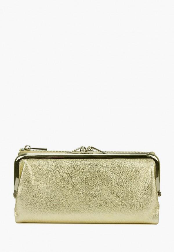 женский кошелёк laccoma, бежевый