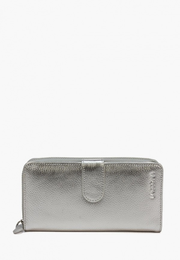 женский кошелёк laccoma, серый