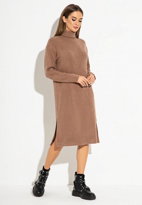 женское платье itelle, бежевое