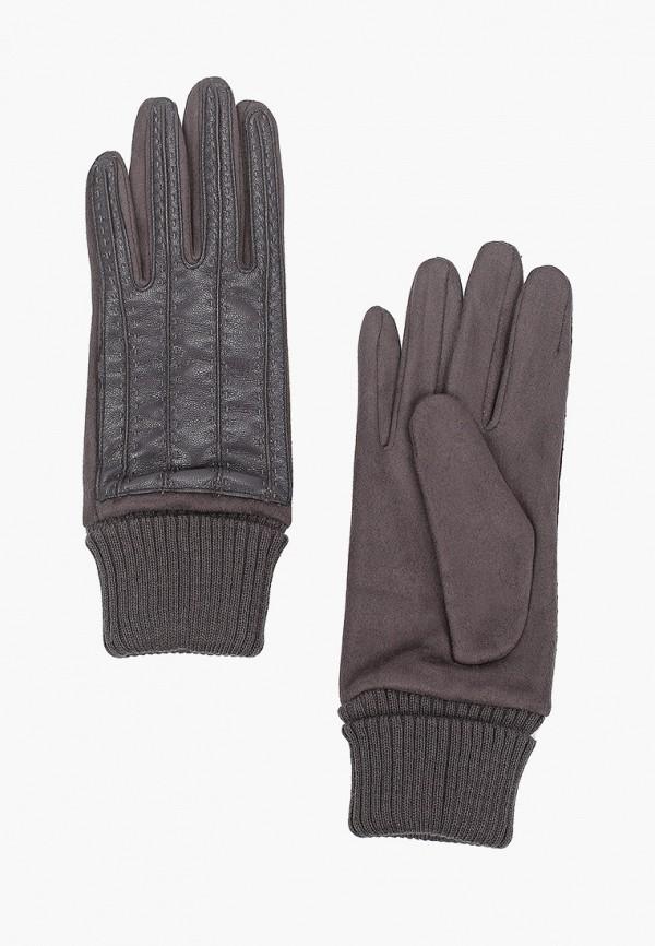 женские кожаные перчатки модные истории, серые