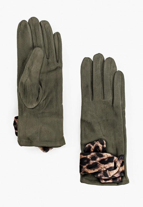 женские кожаные перчатки модные истории, зеленые