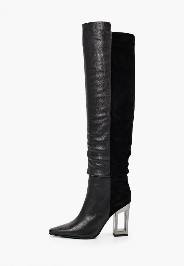 женские ботфорты graciana, черные
