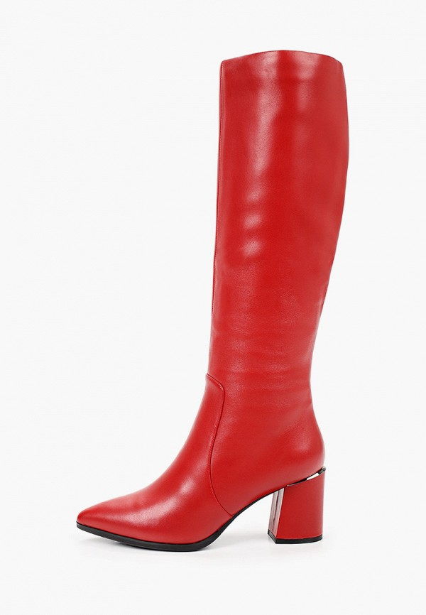 женские сапоги graciana, красные