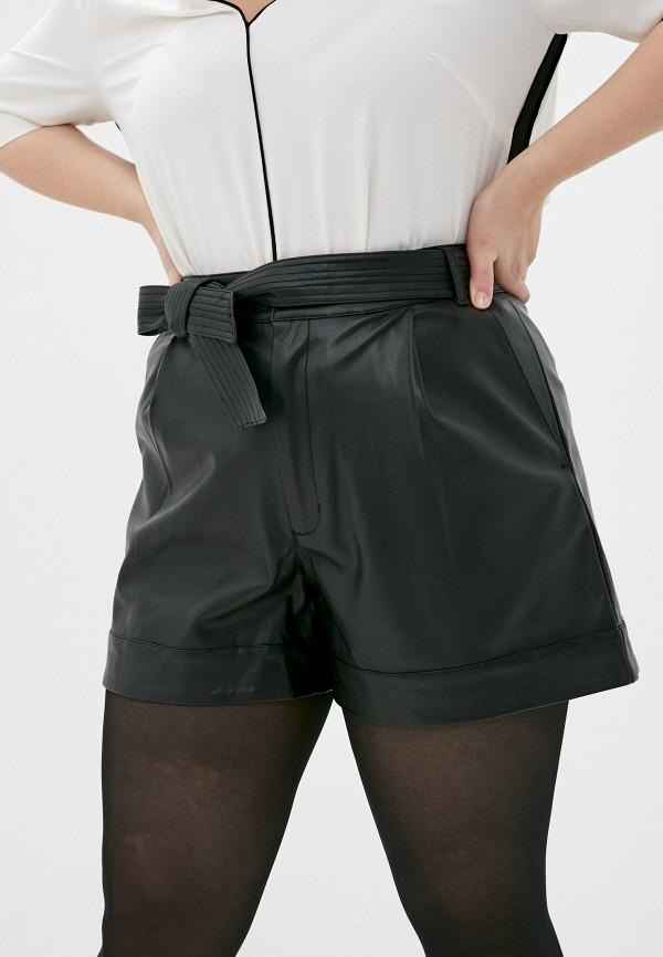 женские повседневные шорты lime, черные