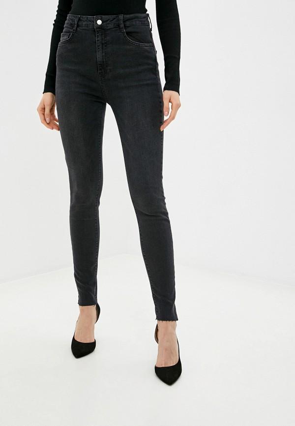 женские джинсы скинни lime, черные