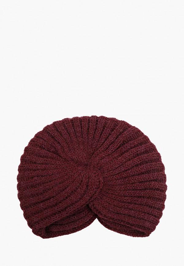 женская шапка сиринга, бордовая