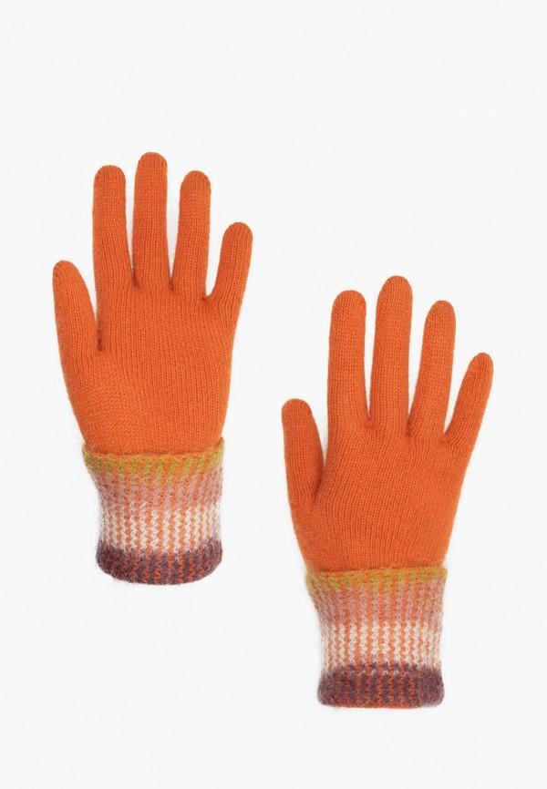 женские перчатки cepheya, оранжевые