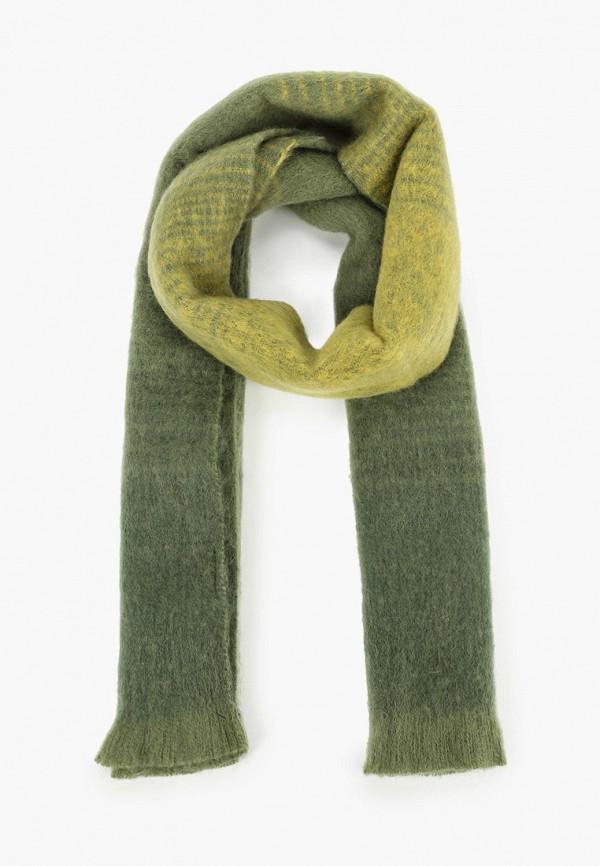 женский шарф befree, зеленый