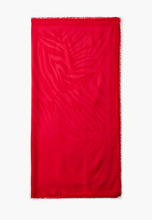женский платок boss, красный