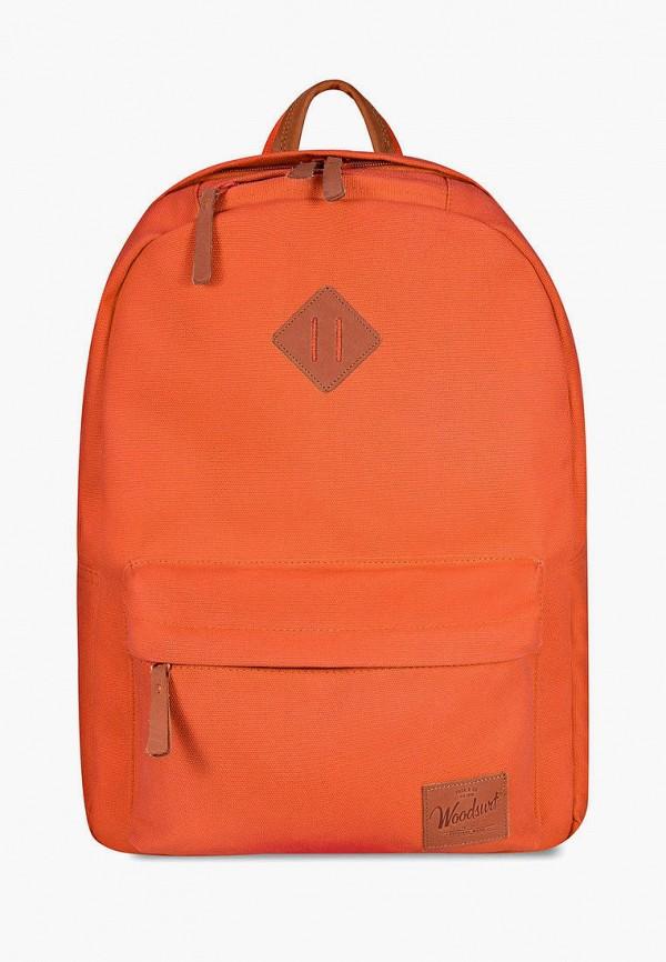 женский рюкзак woodsurf, оранжевый