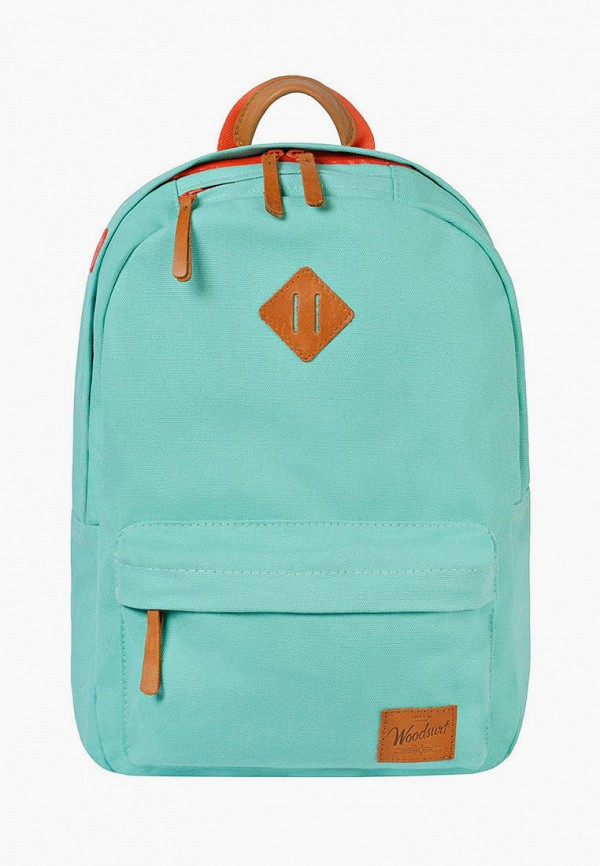 женский рюкзак woodsurf, бирюзовый