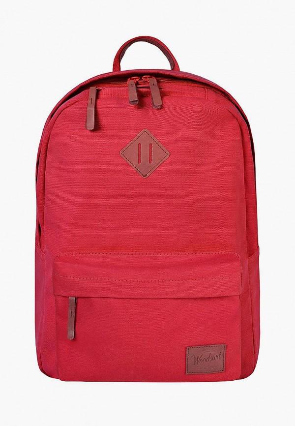 женский рюкзак woodsurf, красный