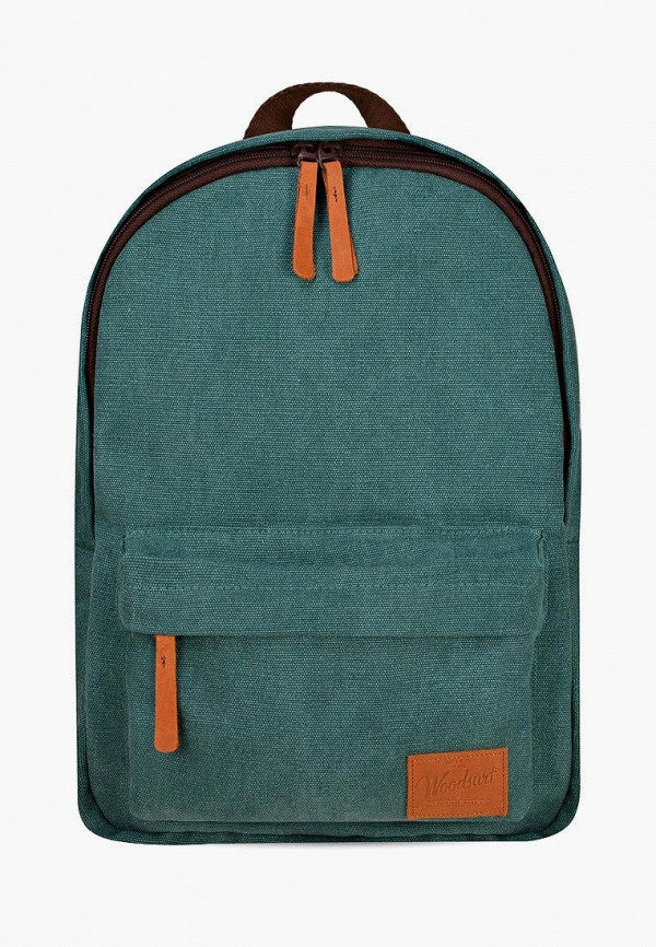 женский рюкзак woodsurf, зеленый