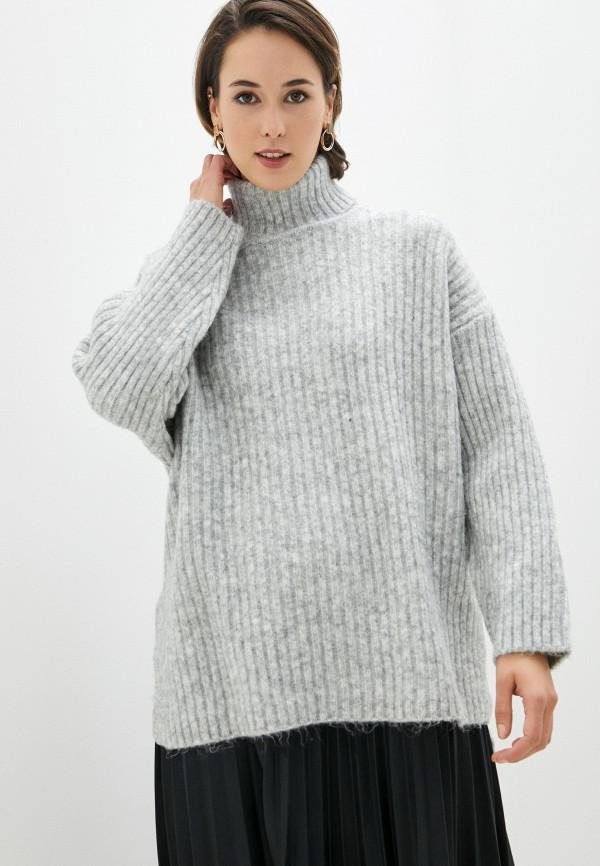 женский свитер befree, серый