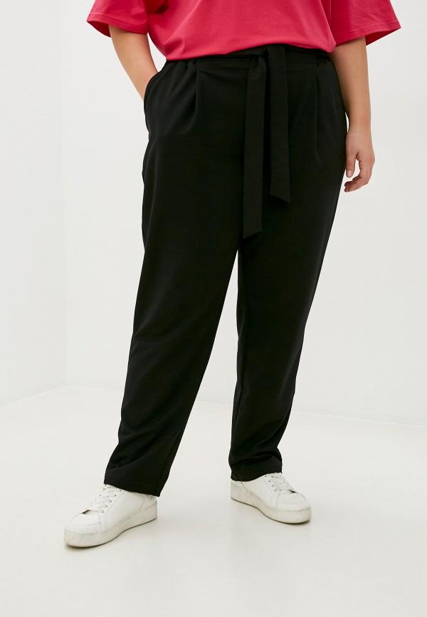 женские брюки джоггеры lilaccat, черные