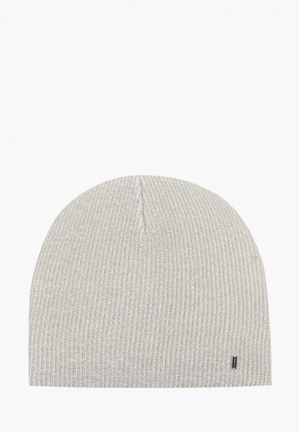 женская шапка curanni, серебряная