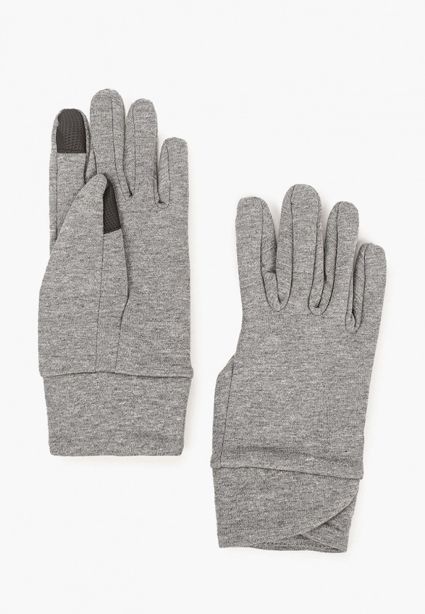 женские текстильные перчатки demix, серые