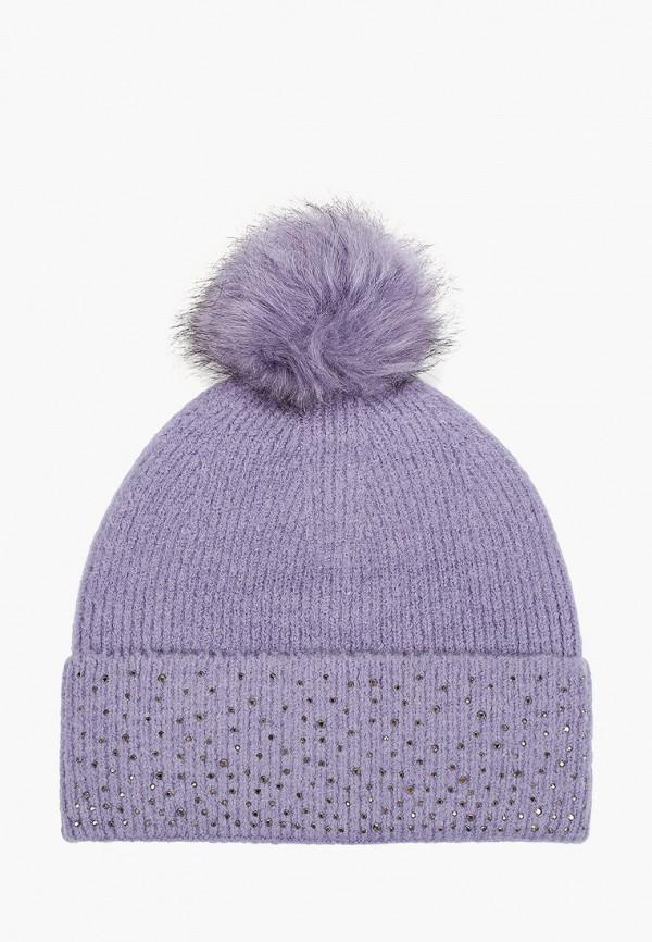 женская шапка outventure, фиолетовая