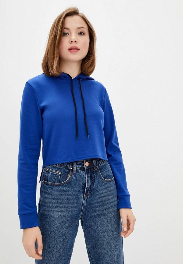 женские худи подіум, синие