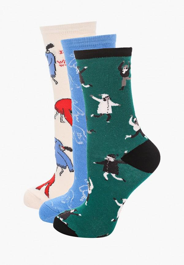 женские носки sela, разноцветные