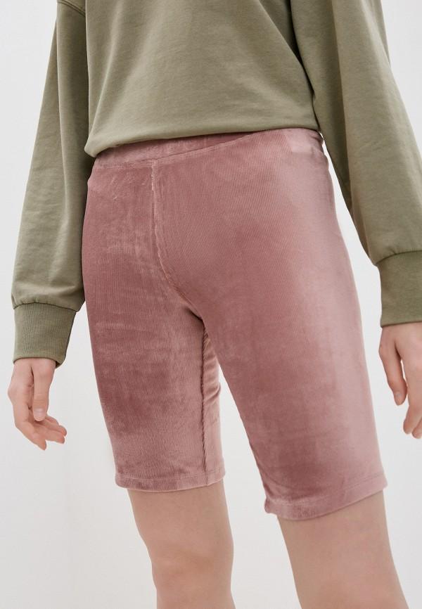женские повседневные шорты sela, розовые