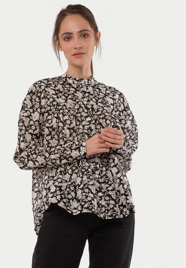 женская рубашка с длинным рукавом mr520, коричневая