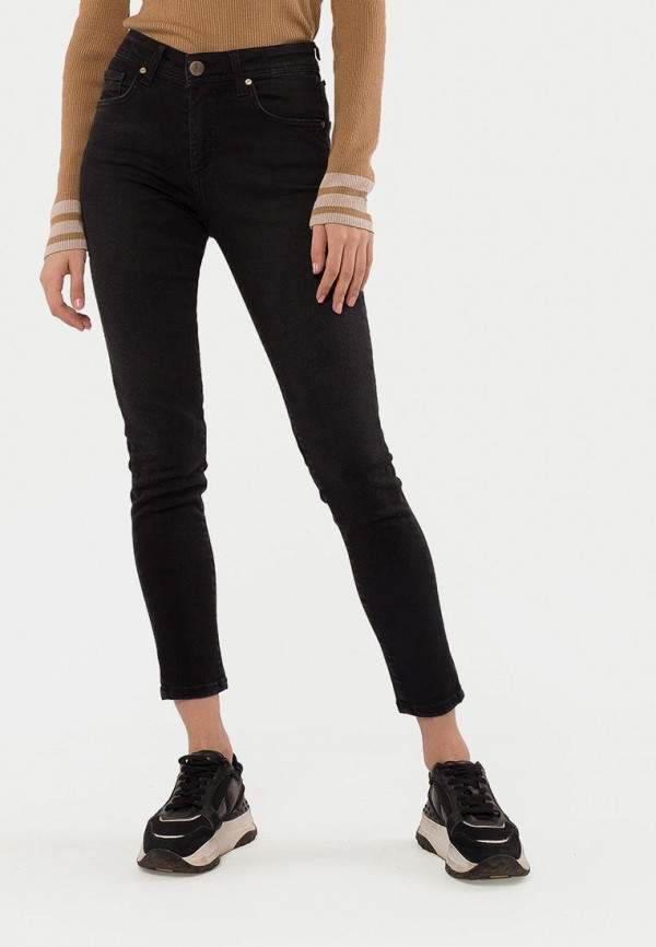 женские прямые джинсы mr520, черные