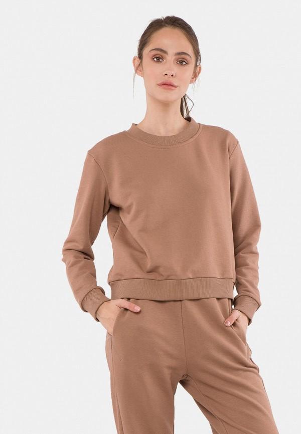 женский свитшот mr520, коричневый