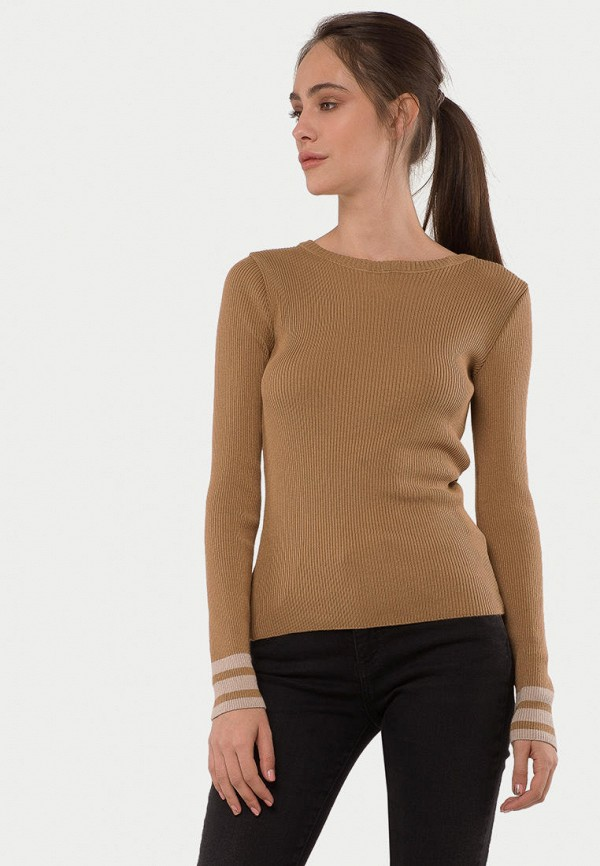 женский джемпер mr520, коричневый