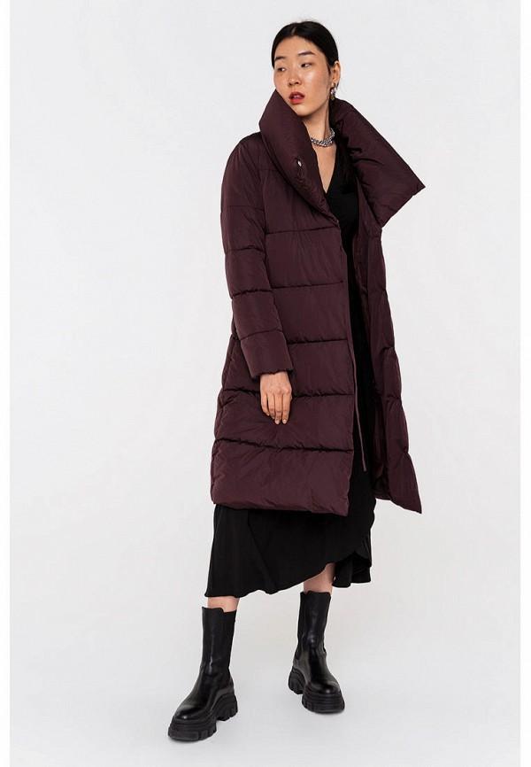 женская утепленные куртка befree, фиолетовая