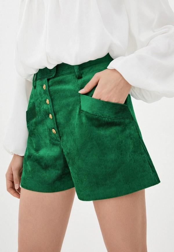 женские повседневные шорты pinko, зеленые